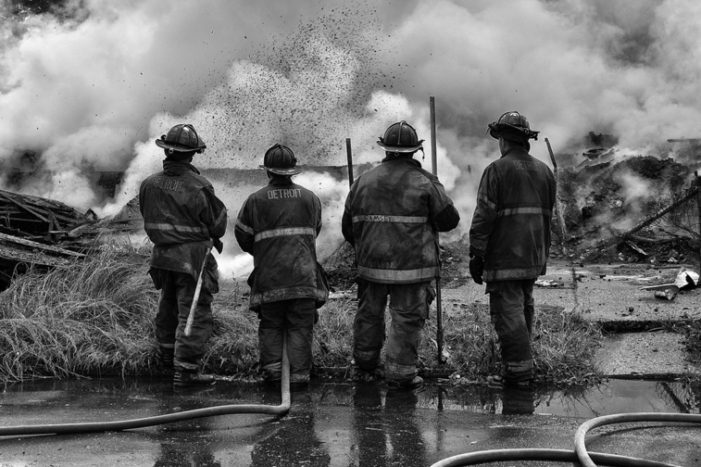 Detroit photographer depicts life as a Detroit firefighter