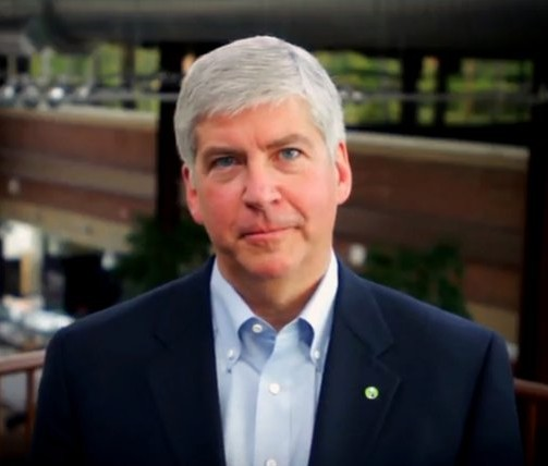 Gov. Snyder abandons GOP to support voting rights