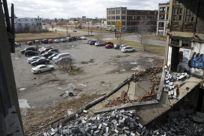 The Packard Plant used to get a lot of visitors.