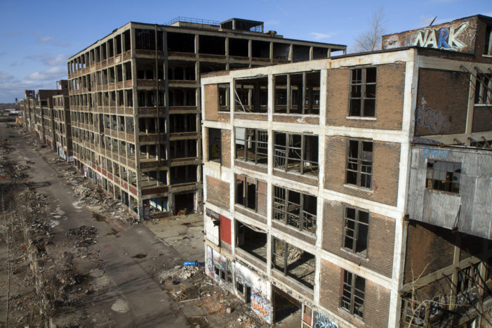 Packard Plant fetches $21,000 bid from anonymous investor