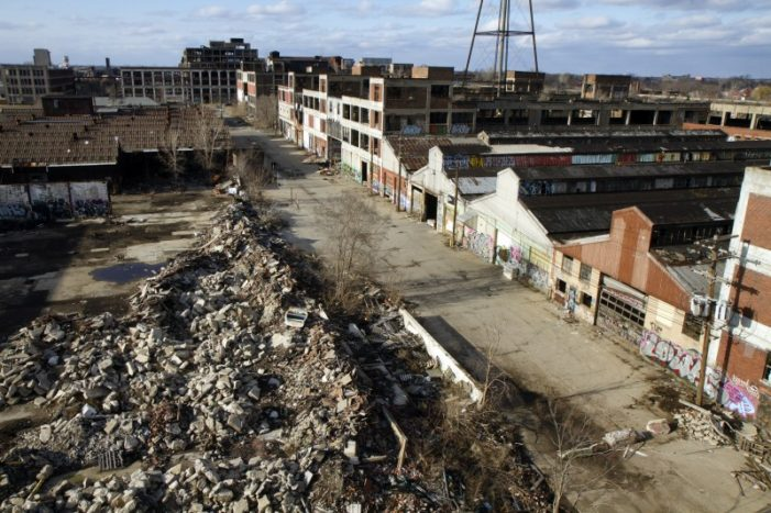 "Detroit plans takeover of Packard Plant; defiant owner responds, ""Kiss my ass"""