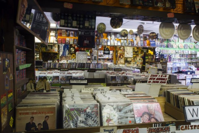 Melodies and Memories isn't just any record shop; stars, locals flock to collection