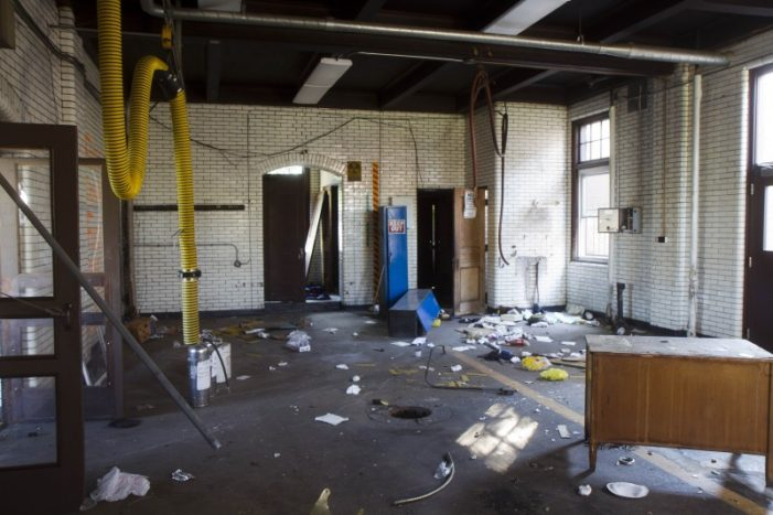 Thieves ransack recently closed fire station in Detroit; building's fate unknown