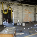 Thieves ransacked Engine 49's headquarters.