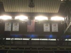 Lions Unveil New Banners With Small Logo Mistake