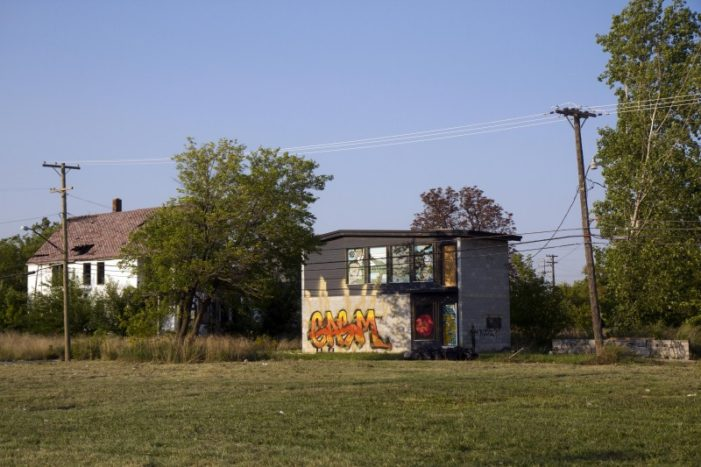Unusual house? Indeed. New occupant to help revive blighted area