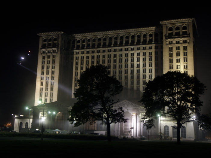 Detroit's train station featured in upcoming music video of Eminem, 50 Cent
