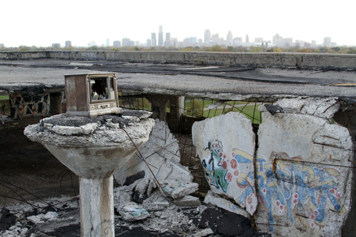 5 crazy videos of thrill-seekers testing limits at vacant Packard Plant