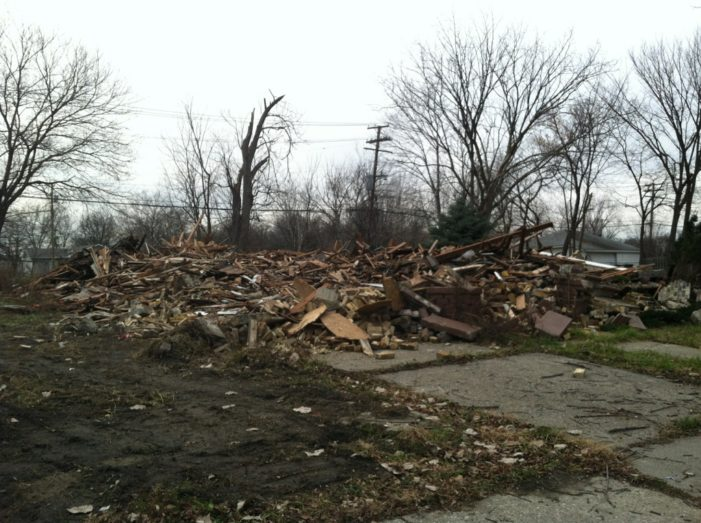 Oops? State demolishes recently purchased homes in Detroit, shocking new owners