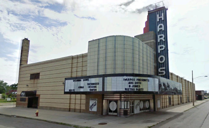 From movie house to heavy metal haven, Harpos wants to close the curtain