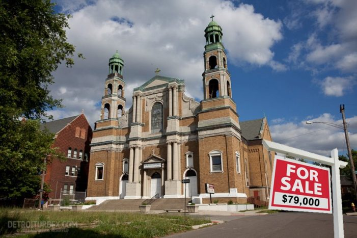 Historic, 112-year-old Catholic church in Detroit could be yours for just $79,000