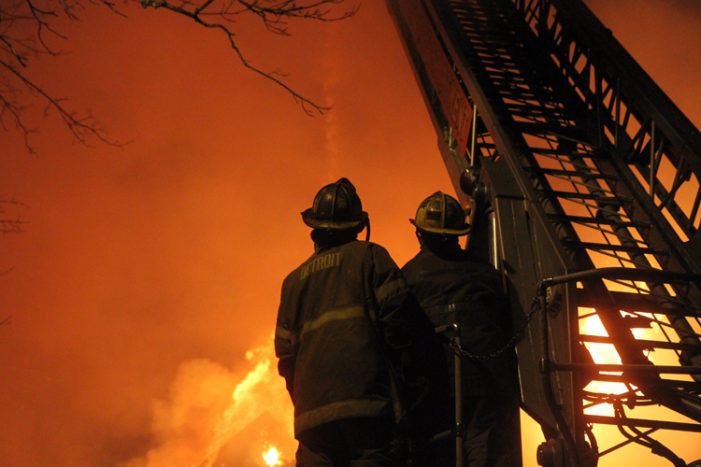 Chaotic night of fires: A death, broken down rigs, worn-down firefighters