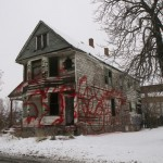Chene St. House Graffiti