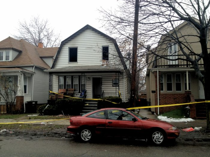 One child dead, another clings to life after EMS no-show at Detroit house fire