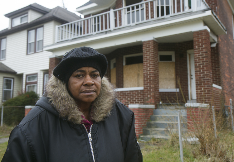 Elnora Wade hopes the tree farms will remove the eyesores.