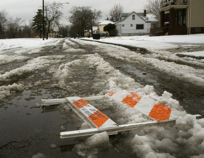 City failed miserably to protect residents from downed power lines during windy, icy night