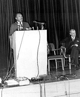 Martin Luther King Jr. defied hecklers in Grosse Pointe speech in 1968