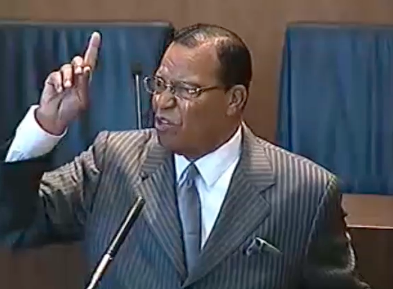 Nation of Islam Leader suggests former mayor Kilpatrick is imprisoned because he's black