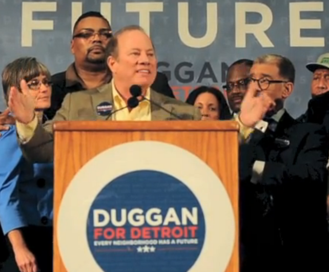 Detroit mayoral candidate Duggan remains on ballot with split Election Commission ruling