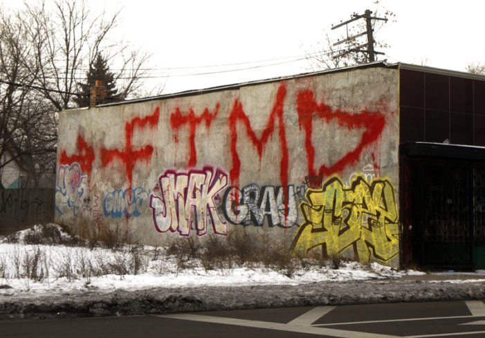 Detroit mulls graffiti task force as vandalism gets out of control