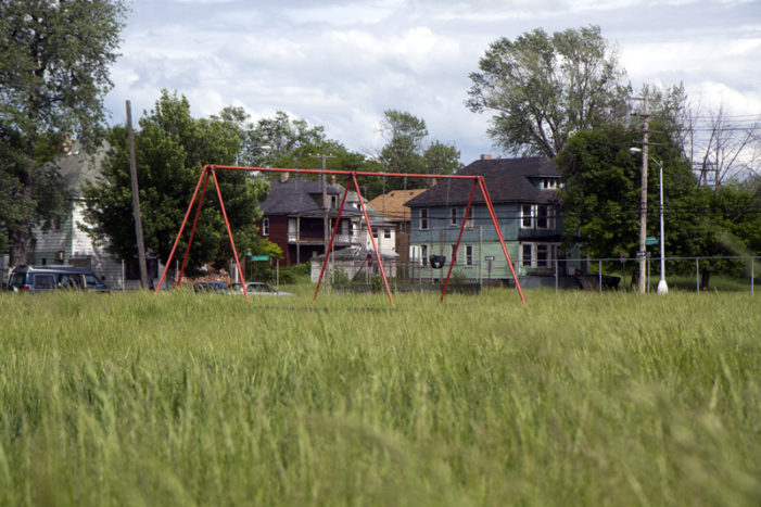 Grass: Detroit is overgrown with negligence