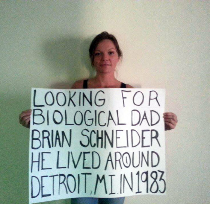 Searching for clues of lost family members in Detroit area