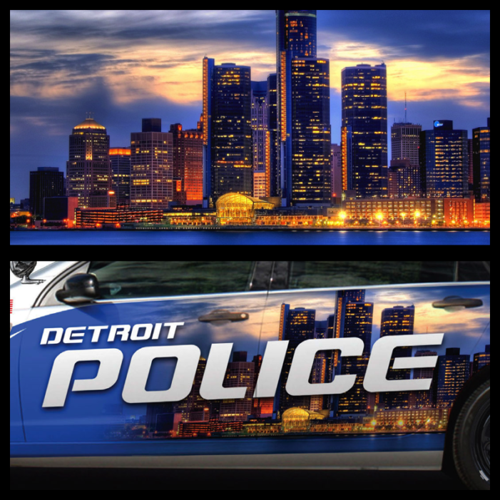 Detroit's new cop cars sport stolen image of cityscape (Updated)