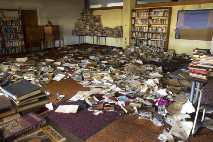 Thousands of books discarded in Detroit schools, libraries