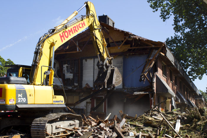 Video: Demo begins on storied Brewster projects in Detroit