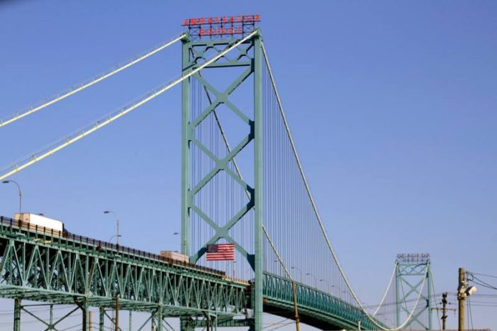 Man denied entrance into Canada before jumping to death from Ambassador Bridge