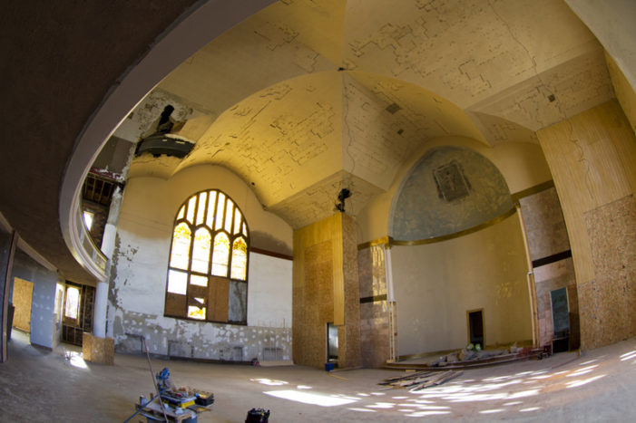 Work of Resurrection: Rebuilding An Abandoned Church in Detroit