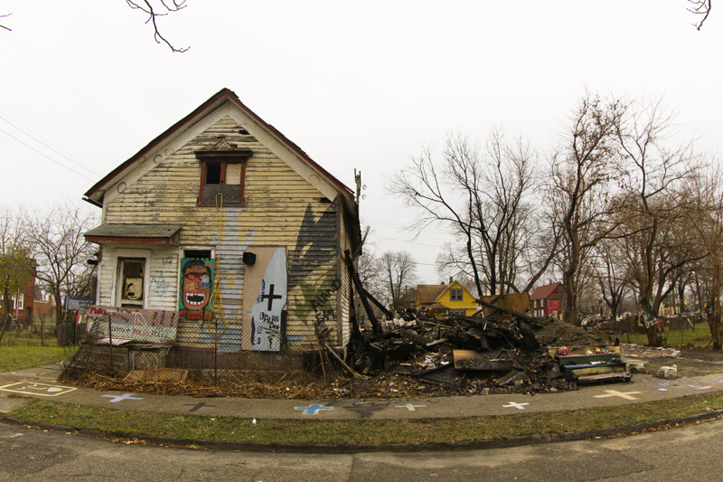 The Heidelberg bought the War Room (left) for $500 in October 2009, just months after losing it to foreclosure. The War Room burned down on Nov. 28, just 16 days after its neighbor, the House of Soul, was intentionally set ablaze. The Heidelberg does not own the House of Soul.