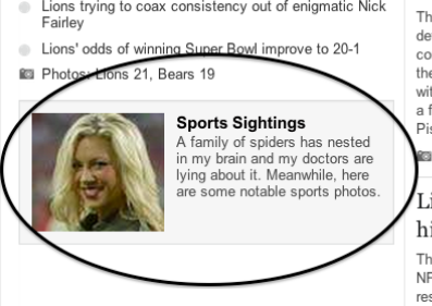 Has Detroit News editor's brain been infiltrated by spiders?