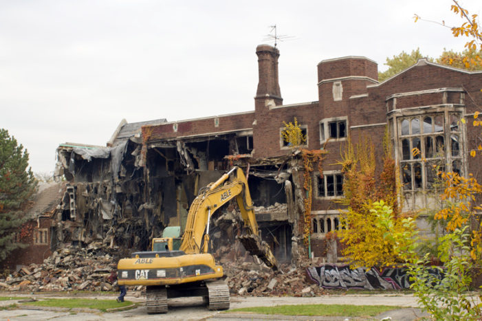 Historic University Club comes down for liquor store or fast food in Detroit