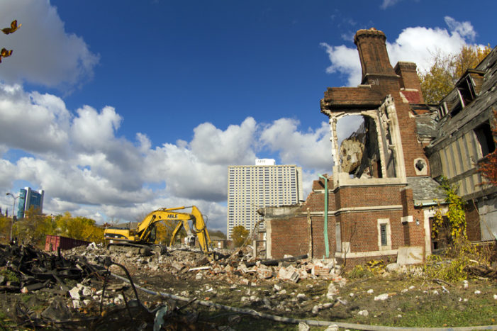 Demolishing historic University Club for a new McDonald's (photos)