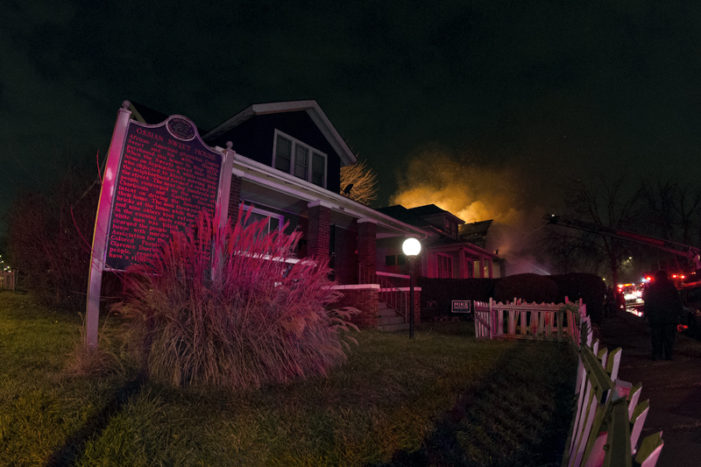 Famous Detroit home of civil rights hero Ossian Sweet spared from blaze