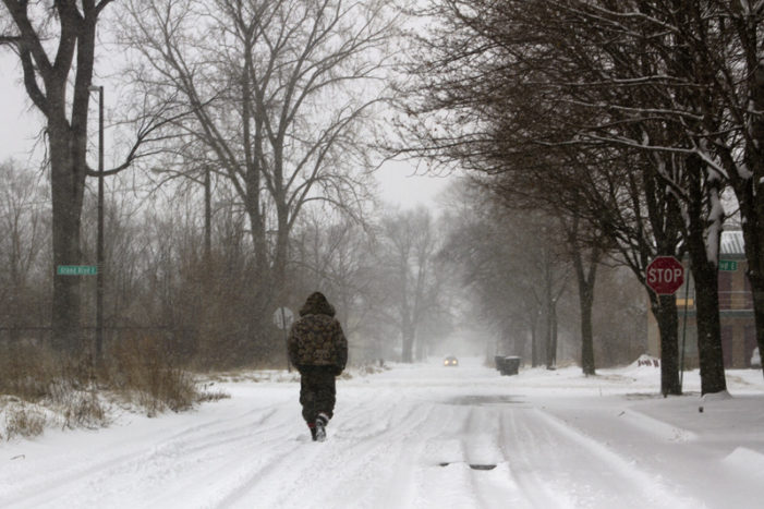 Photos: Explore Detroit's wintry landscape