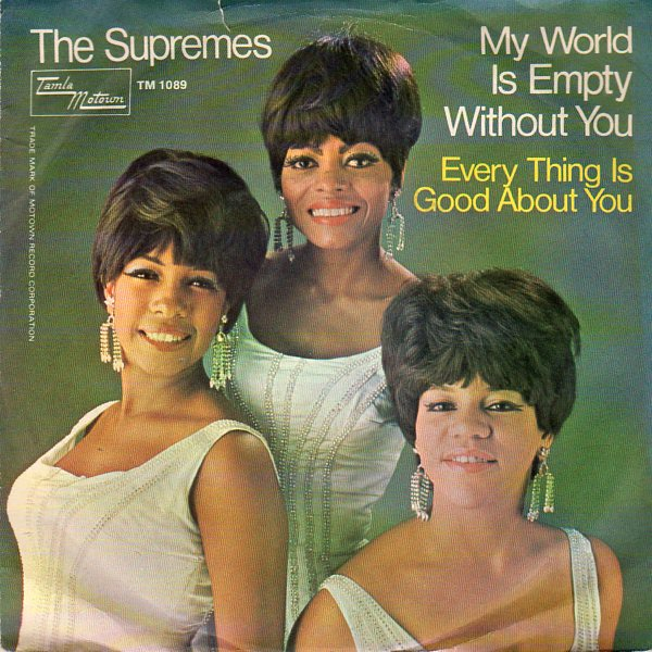 Dec. 2, 1965: Supremes release 'My World Is Empty Without You'
