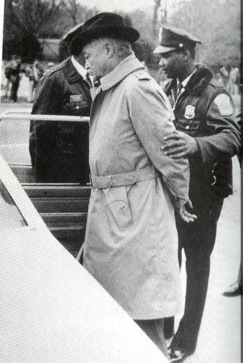 Jan. 7, 1985: Mayor Young arrested protesting apartheid outside South African Embassy