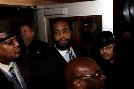 Feb. 3, 2009: Kwame Kilpatrick released after 99-day jail sentence for obstruction