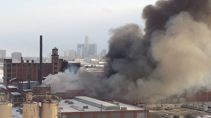 A closer look: Why Detroit firefighters gave up on factory blaze