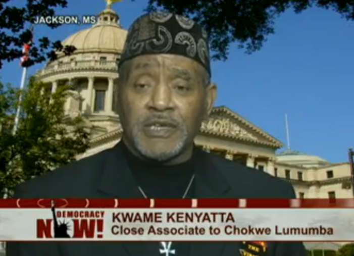 Kwame Kenyatta mourns death of boss, Mayor Chokwe Lumumba of Jackson, Miss.