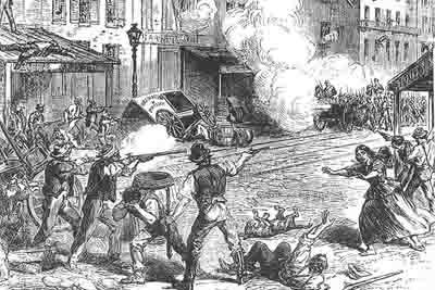 Mar. 6, 1863: Race riot breaks out, killing at least 2 and injuring dozens