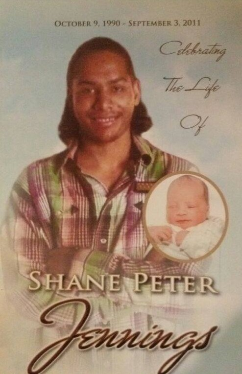 Celebrating the life of Shane Peter Jennings