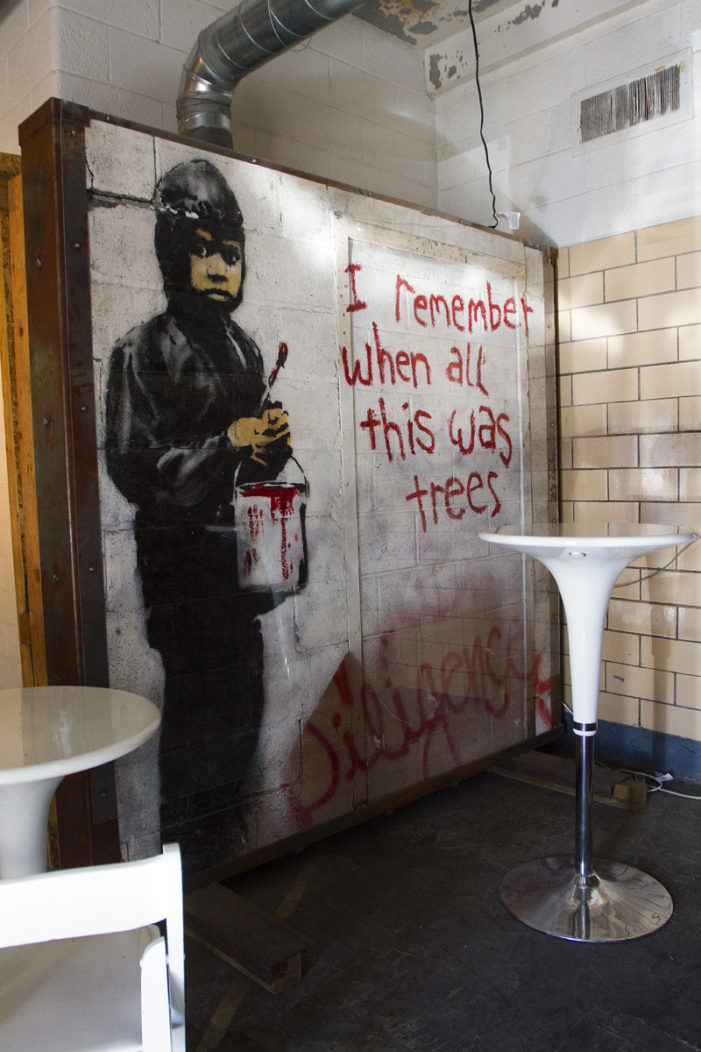 2 Detroit artists claim they painted 'Banksy' mural that is up for sale