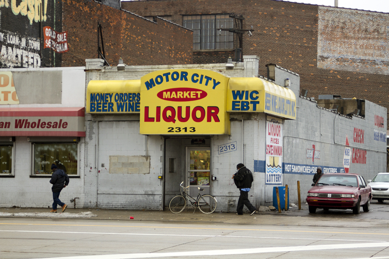Photo essay once grand gratiot avenue in detroit is for Motor city pawn shop on 8 mile and hayes
