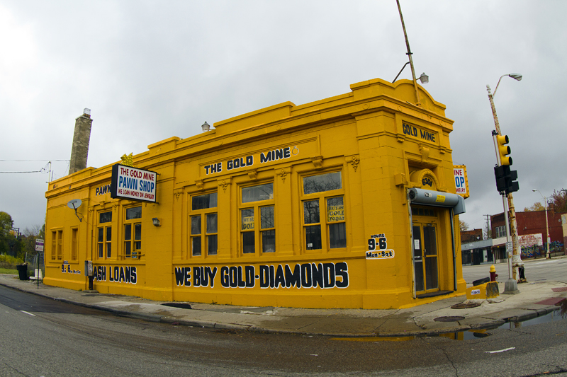 The Gold Mine, a pawn shop, 6301 Gratiot Ave