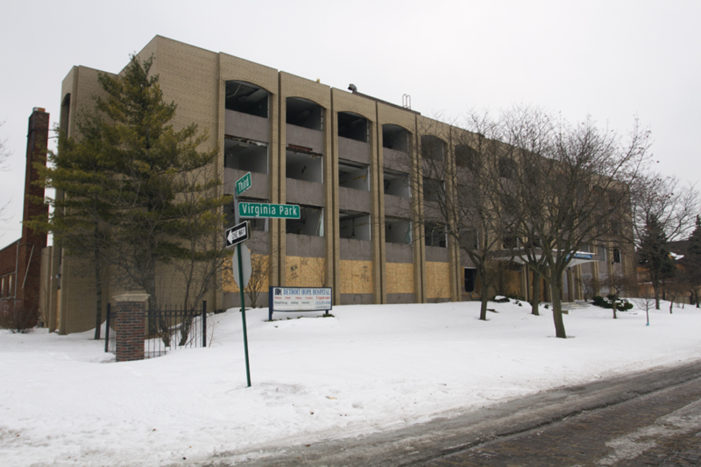 DTE finds 4-month gas leak under abandoned hospital in Detroit