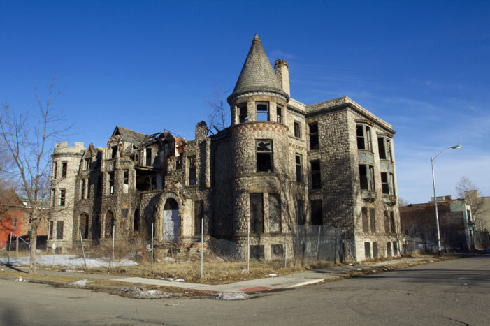Restoration finally begins on 139-year-old mansion in the Cass Corridor