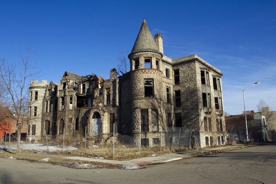 The James Scott Mansion is being converted into apartments. By Steve Neavling/MCM